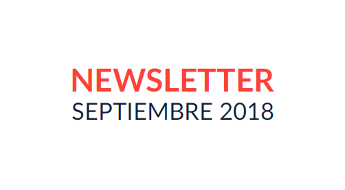Newsletter | Septiembre 2018 Featured Photo