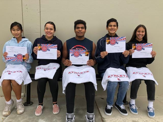 Athletes of the Month! Featured Photo