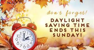Daylight savings clipart