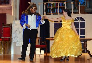 A scene from Beauty and the Beast