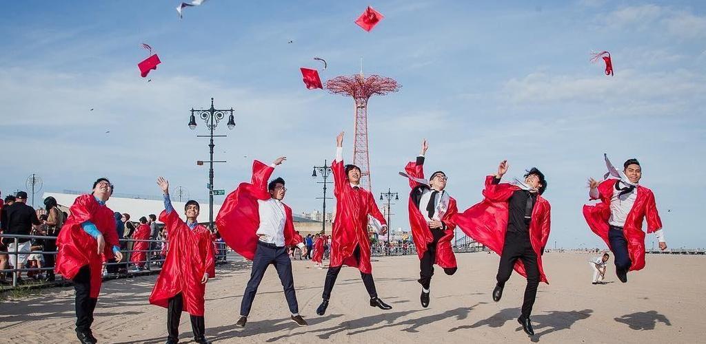 Graduation at COney Island
