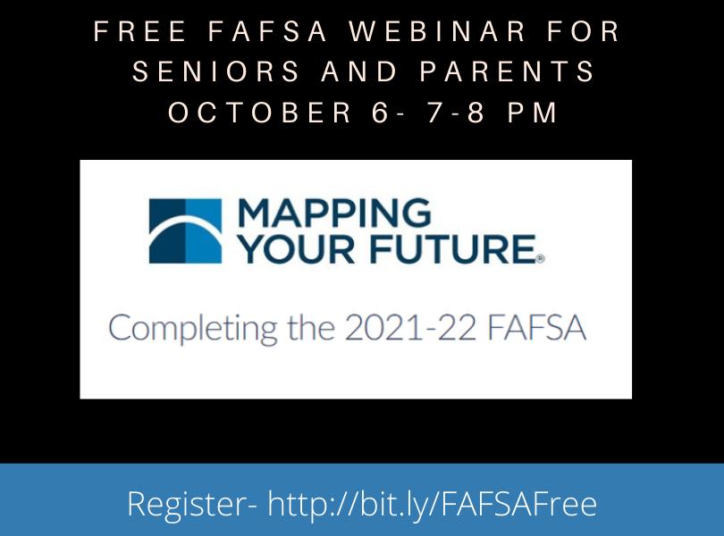 Free FAFSA Webinar