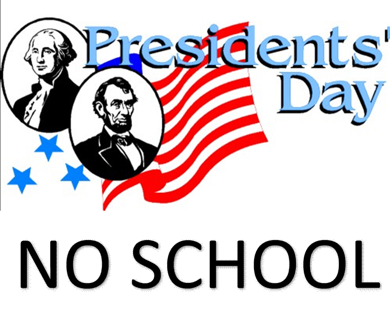 President's Holiday - No School 2/17-2/21 Featured Photo
