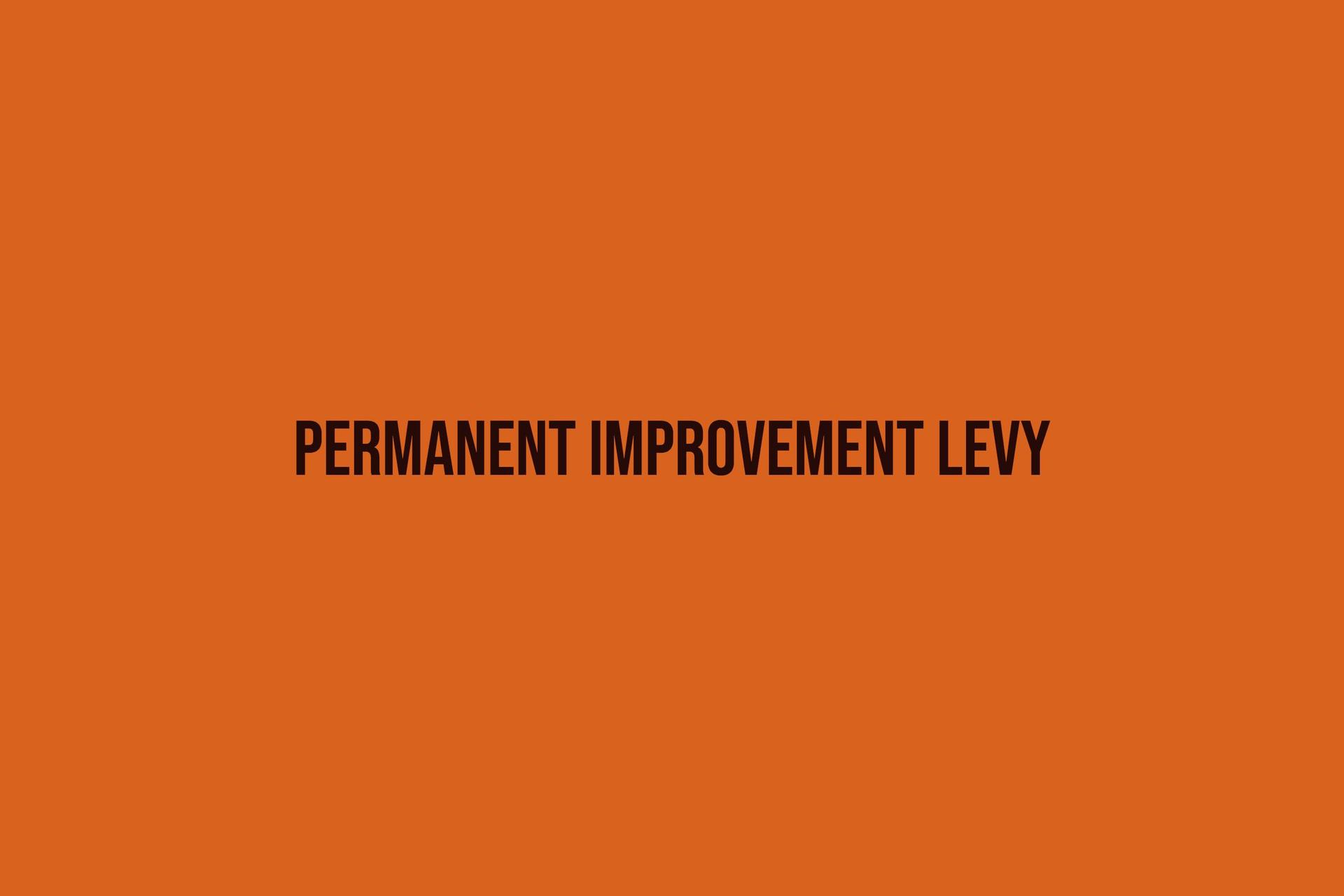 Permanent Improvement