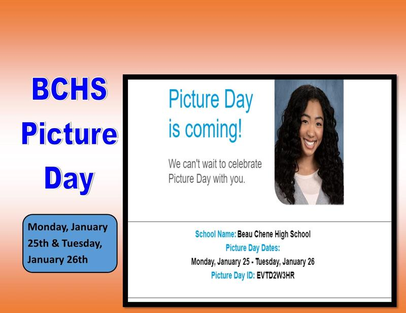 Picture Day is coming, January 25 & 26, 2021