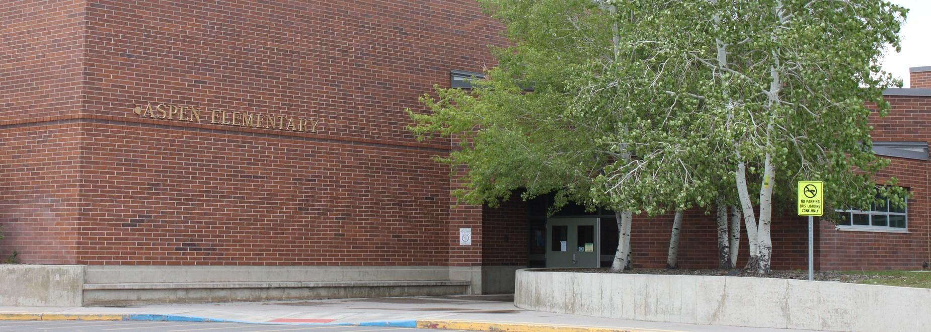Entrance of Aspen Elementary