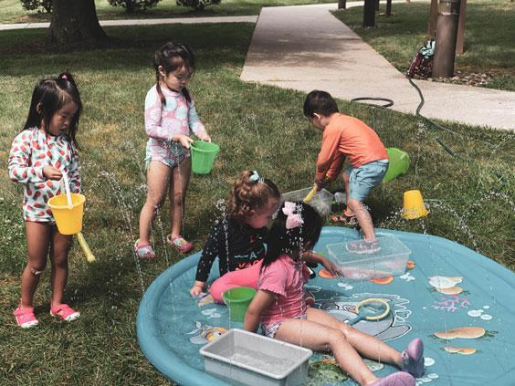Summer at HWIS, Under the Sea, Water games