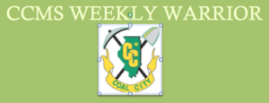 CCMS Weekly Warrior - September 5