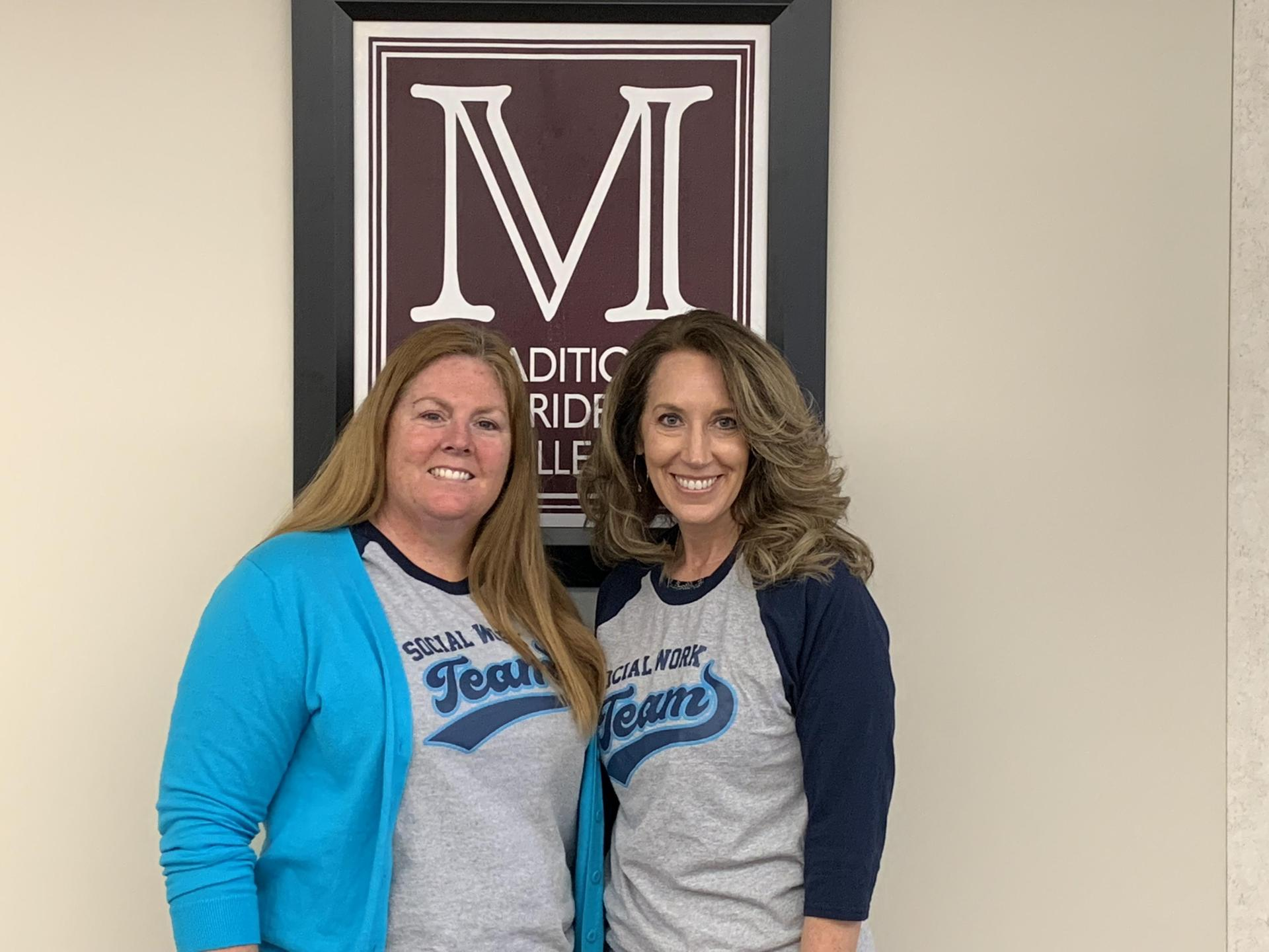 Our School Social Workers: Mrs. Long and Mrs. Daniel