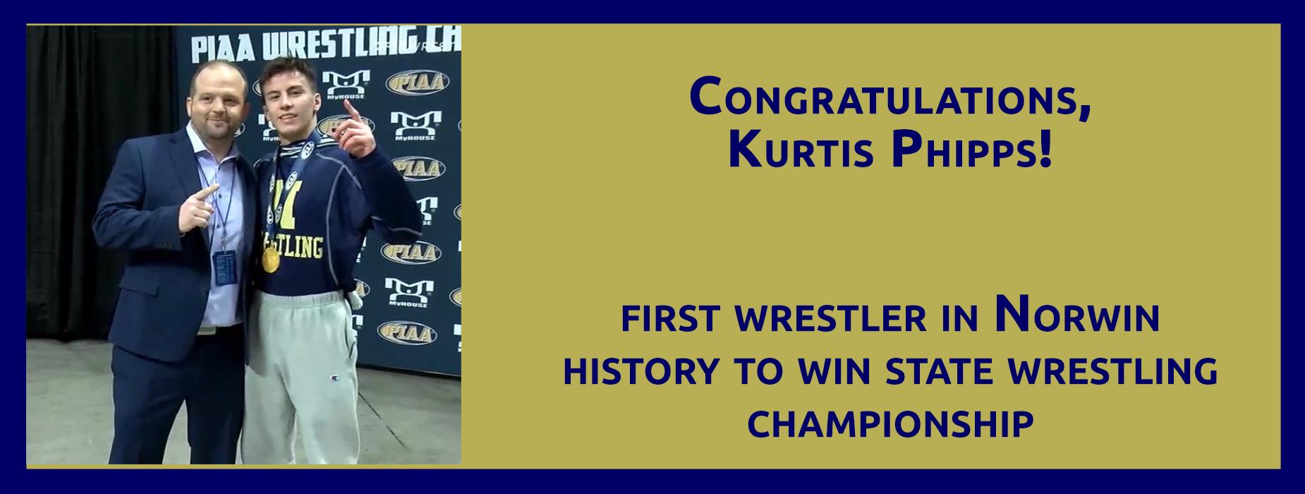 Congratulations, Kurtis Phipps