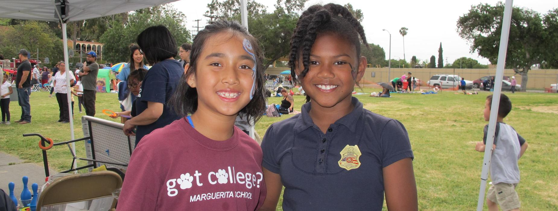 Marguerita students at Picnic Event