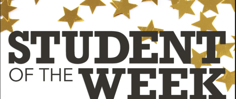 student of the week image
