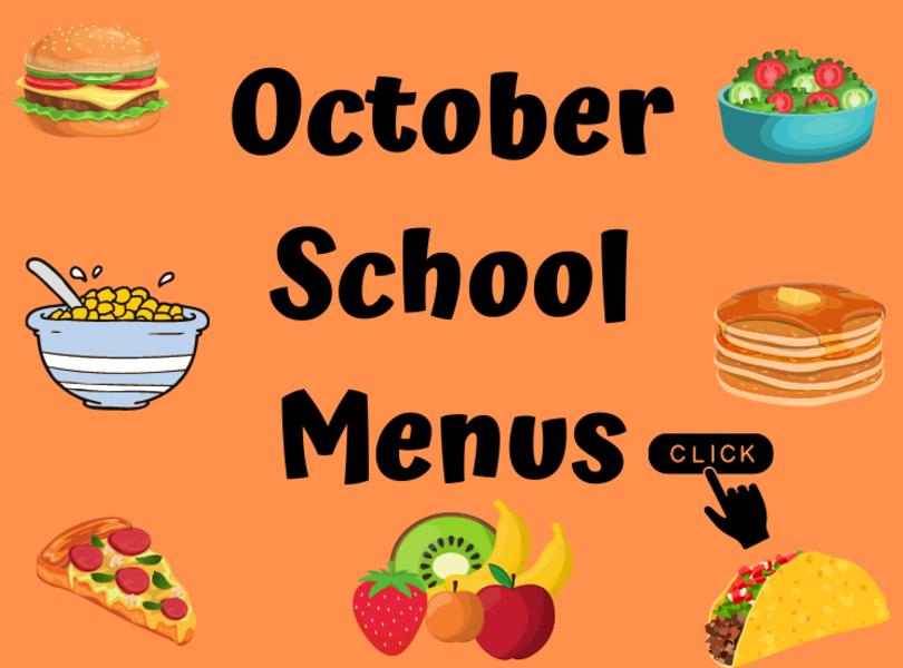 October School Menus