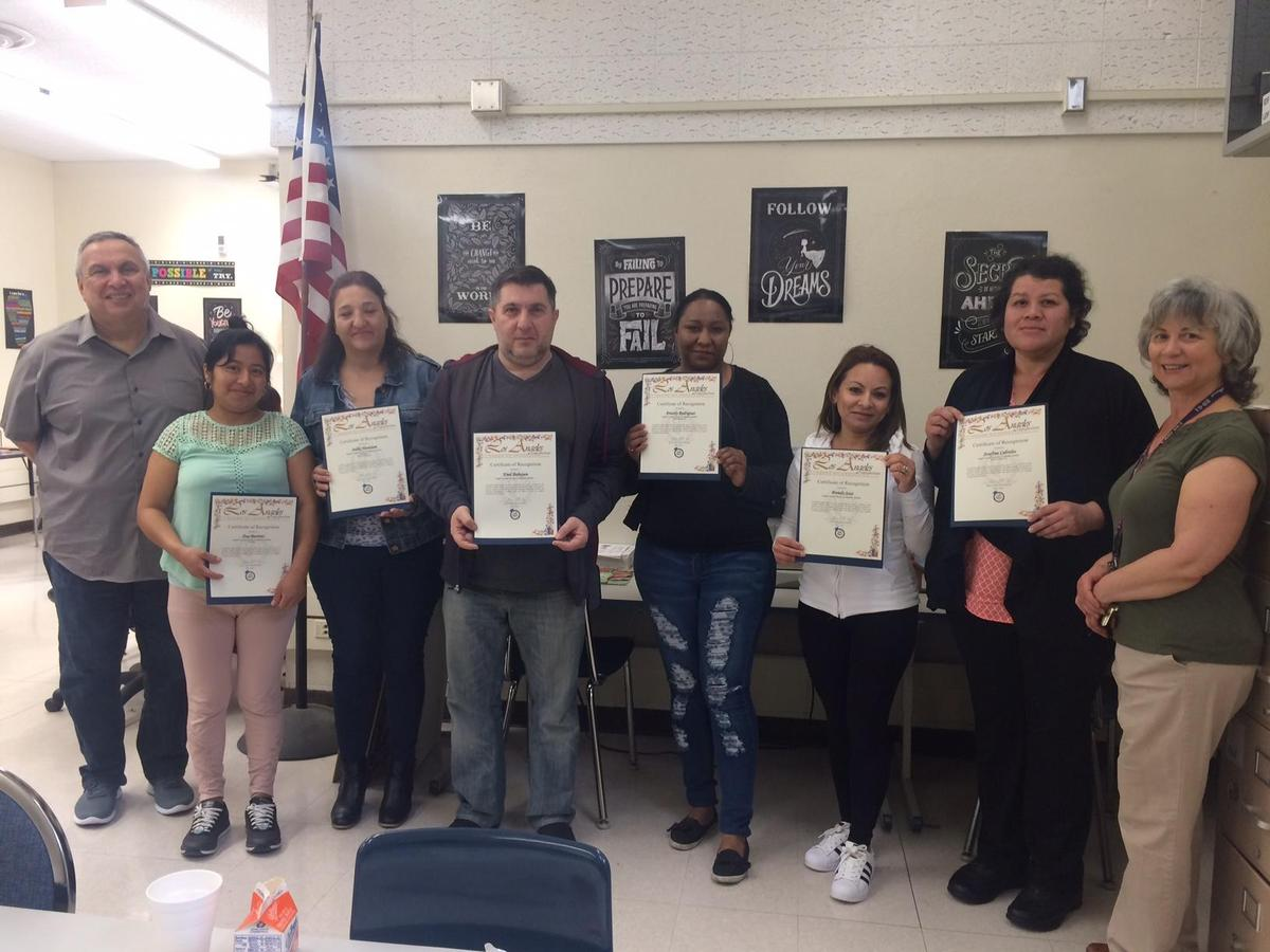 ELAC Members with Certificates