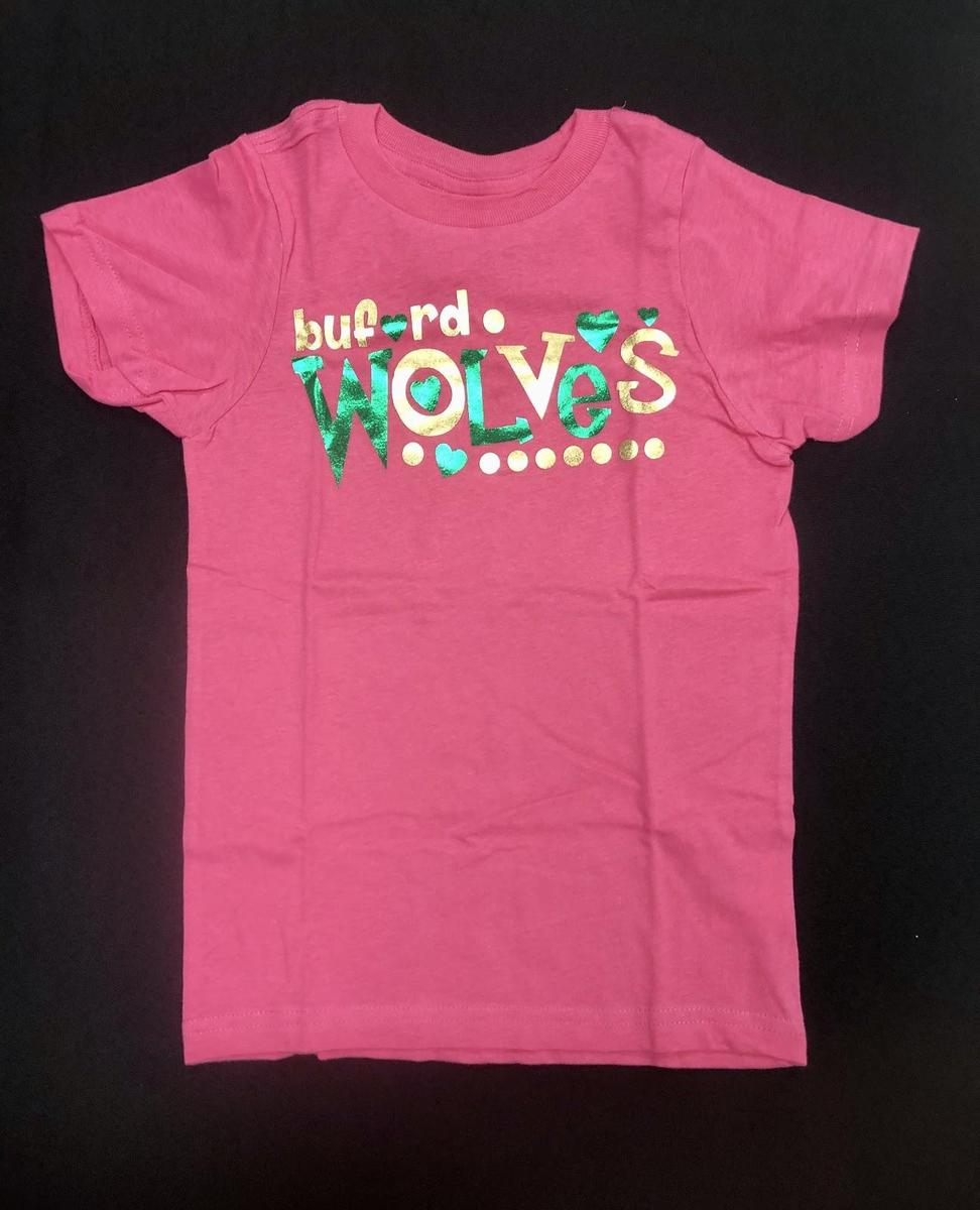 Hot Pink Buford Wolves Shirt
