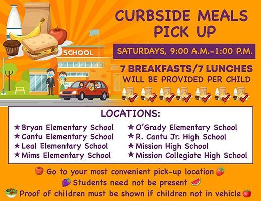 Curbside Meals Pick Up Featured Photo