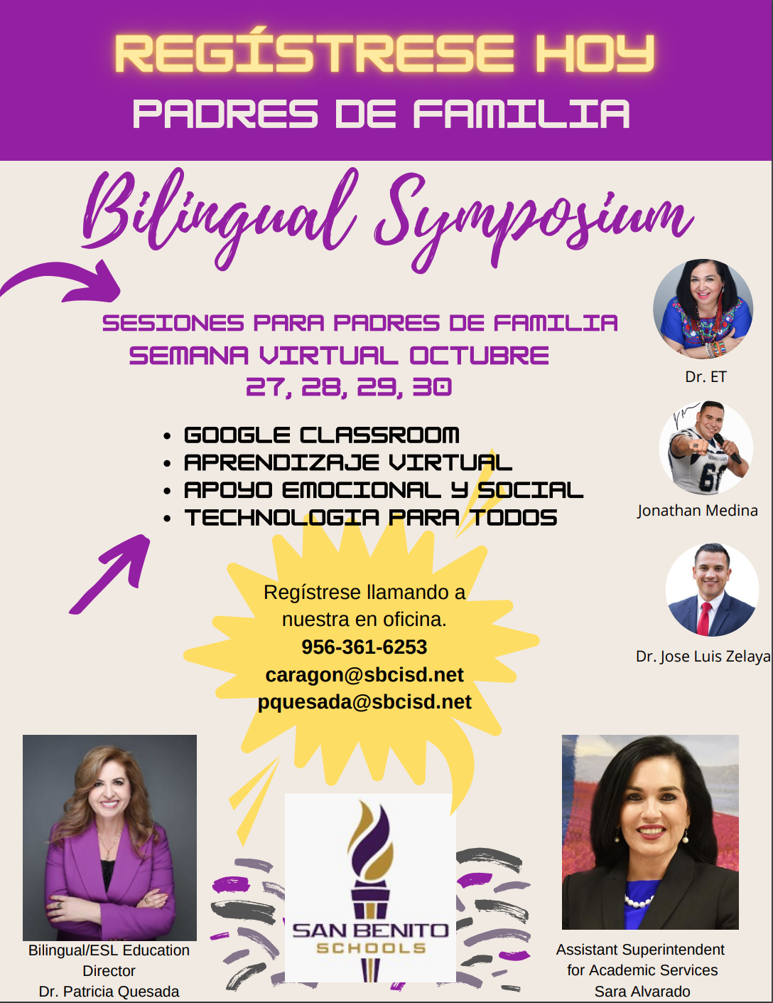 Bilingual Symposium-parent flyer