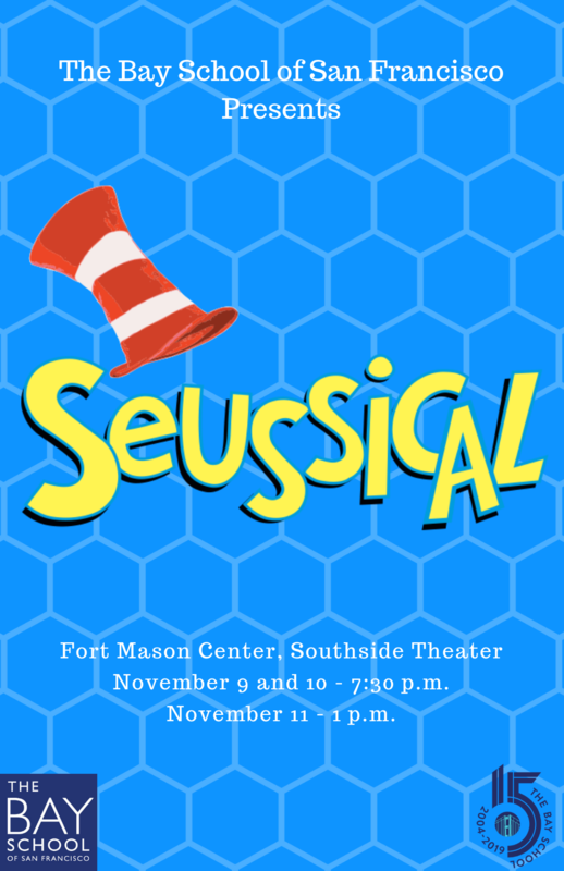 Bay Theater Presents Seussical on November 9, 10 and 11 at the Fort Mason Southside Theater Featured Photo
