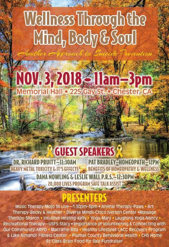 Wellness flyer