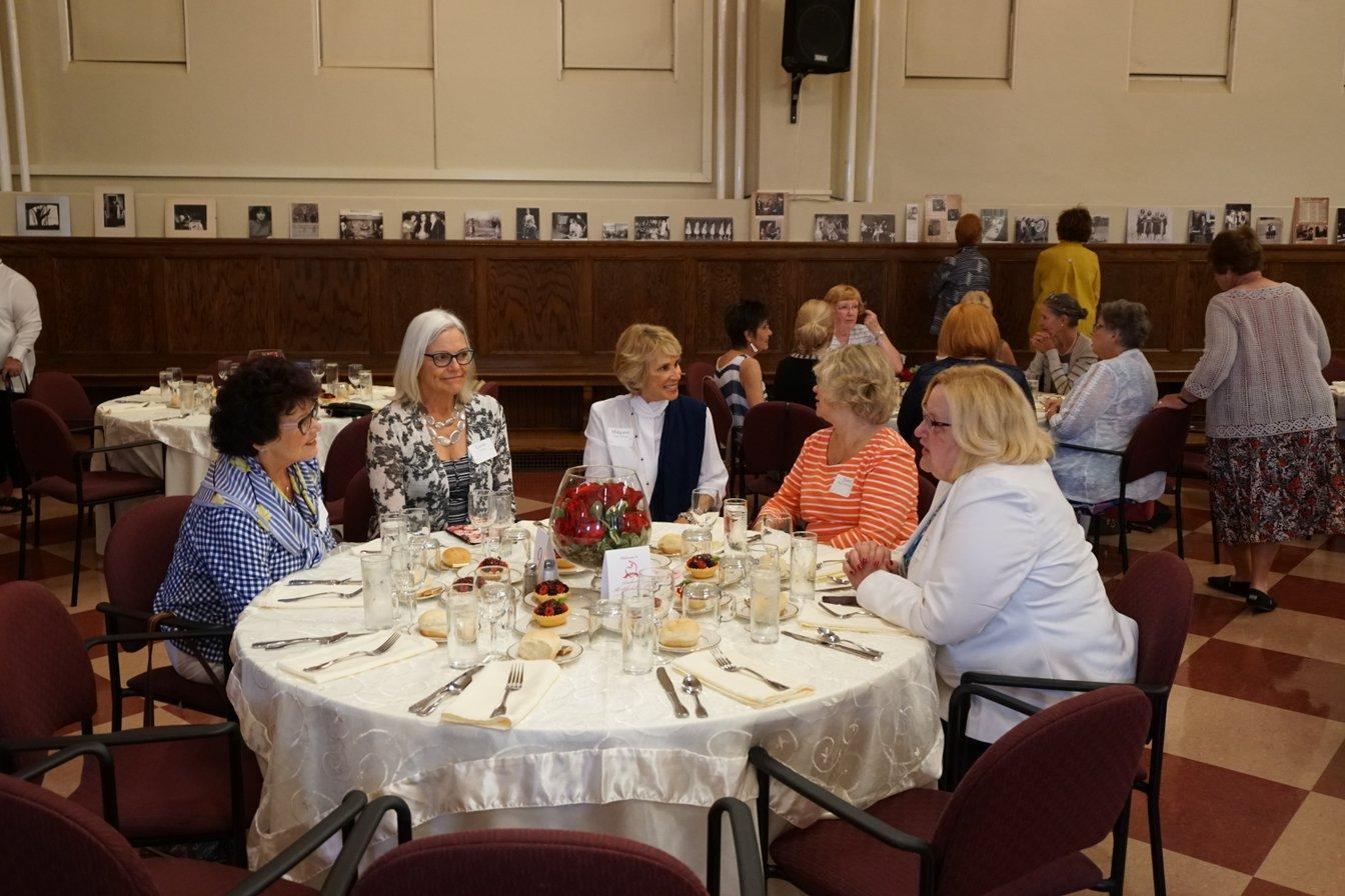 Alumnae reunion weekend luncheon
