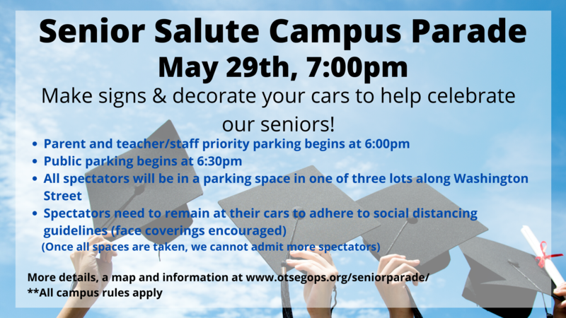 graphic on senior parade. details in the text