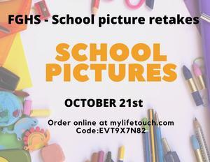 Picture retake flyer