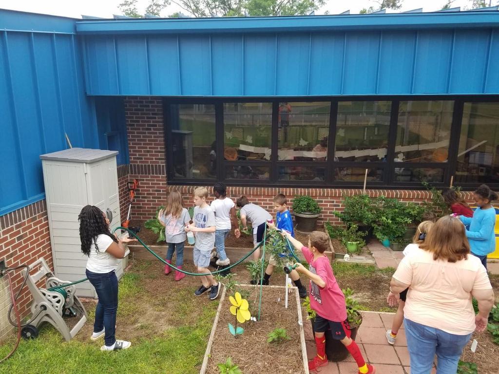 Third grade Lowes Grant, Tending the Garden