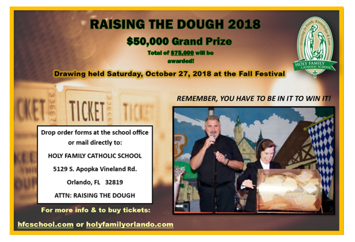 Buy 2018 Raising The Dough Tickets Online Today! Featured Photo