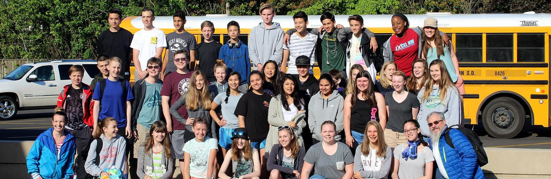 8th graders in spring 2018 to Kah-Na-Tee day trip