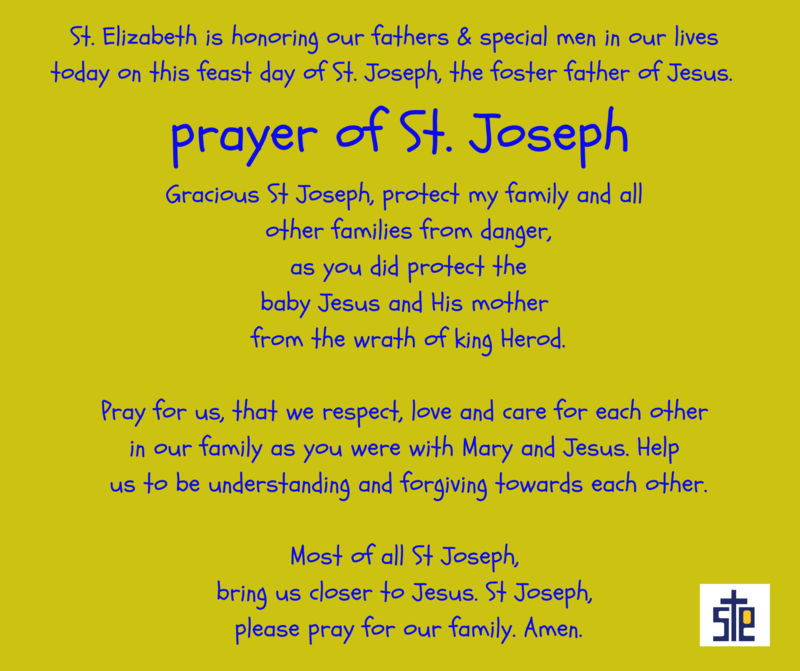 SES is honoring the feast day of St. Joseph, March 19 Featured Photo