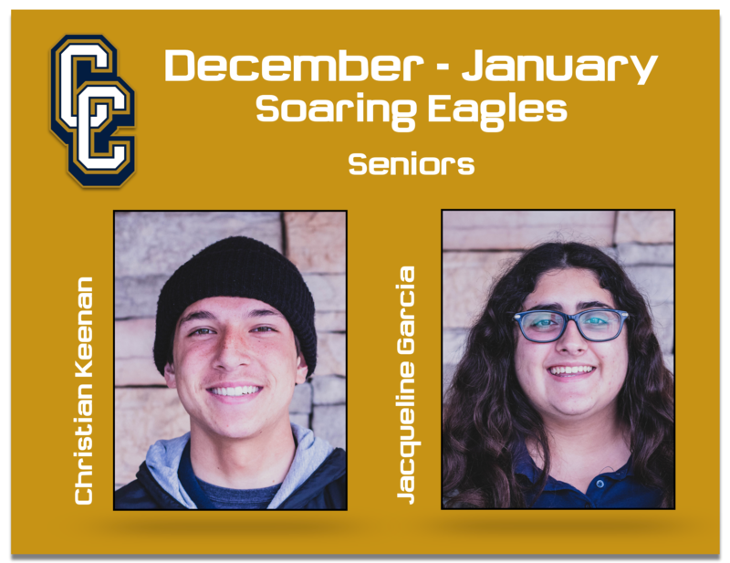 Congratulations to the December/January Soaring Eagles! Featured Photo
