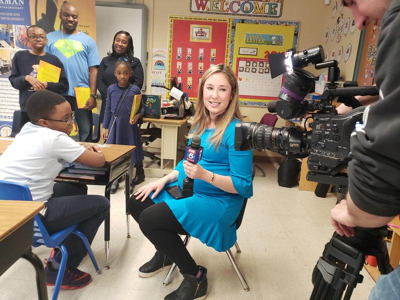 Watch Fox5News on Friday April 19, The Amazingly Awesome Amani author interview at Tiegerman Featured Photo