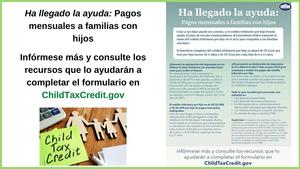 Information in Spanish about the Child Tax Credit