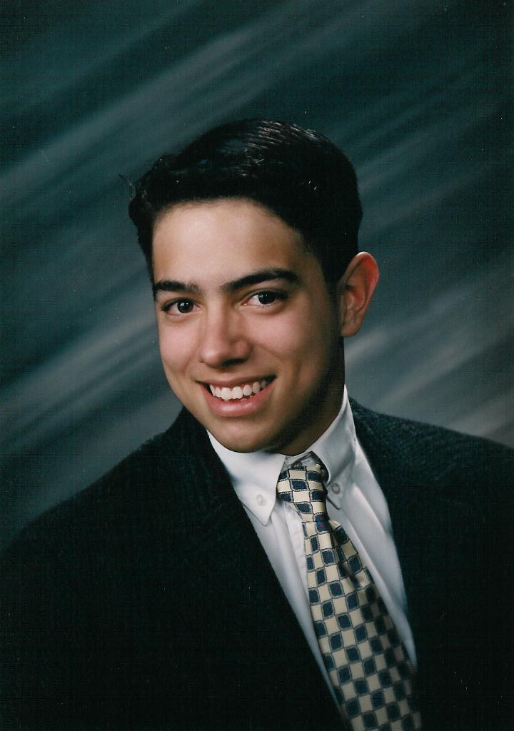 1993: Senior year in high school at Joliet West High School in Joliet, Illinois.