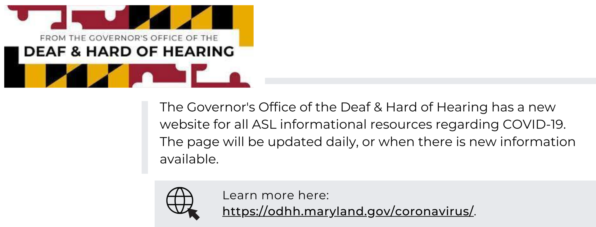 Maryland ODHH