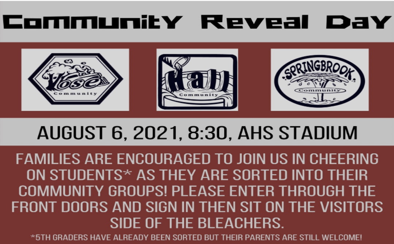 Community Reveal Featured Photo