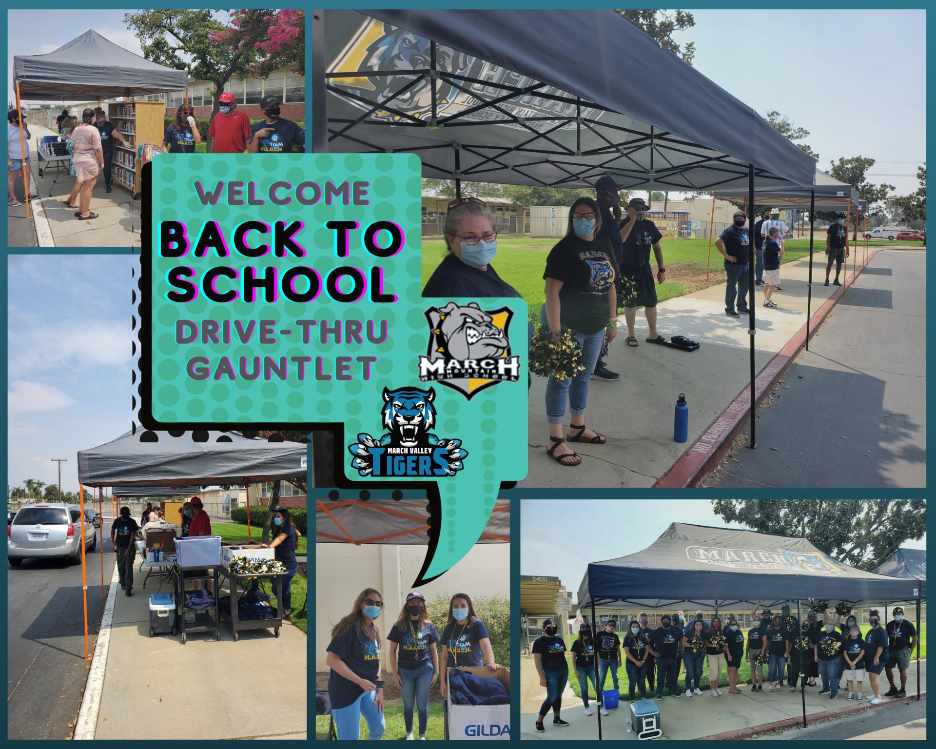 Team MARCH: Back to School Gauntlet