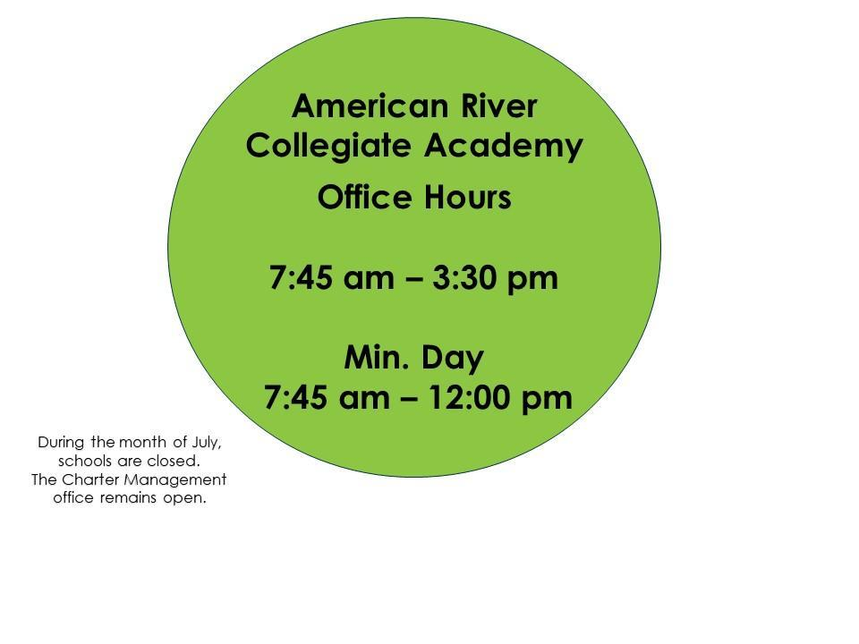 office hours 7:45-3:30
