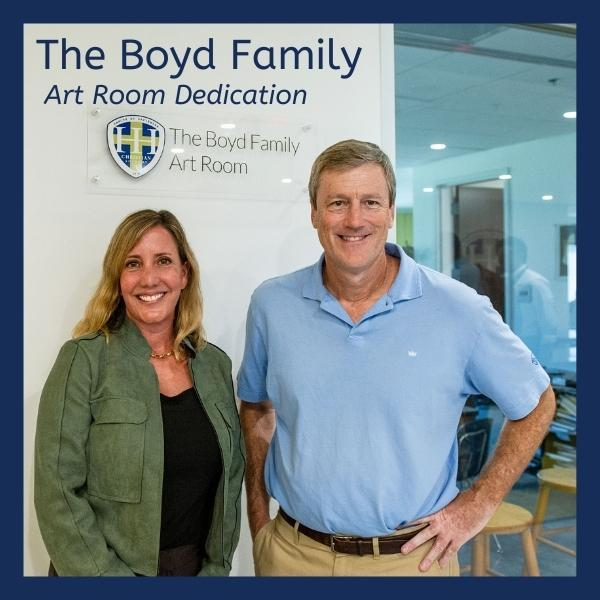Art Room Named for the Boyd Family Featured Photo