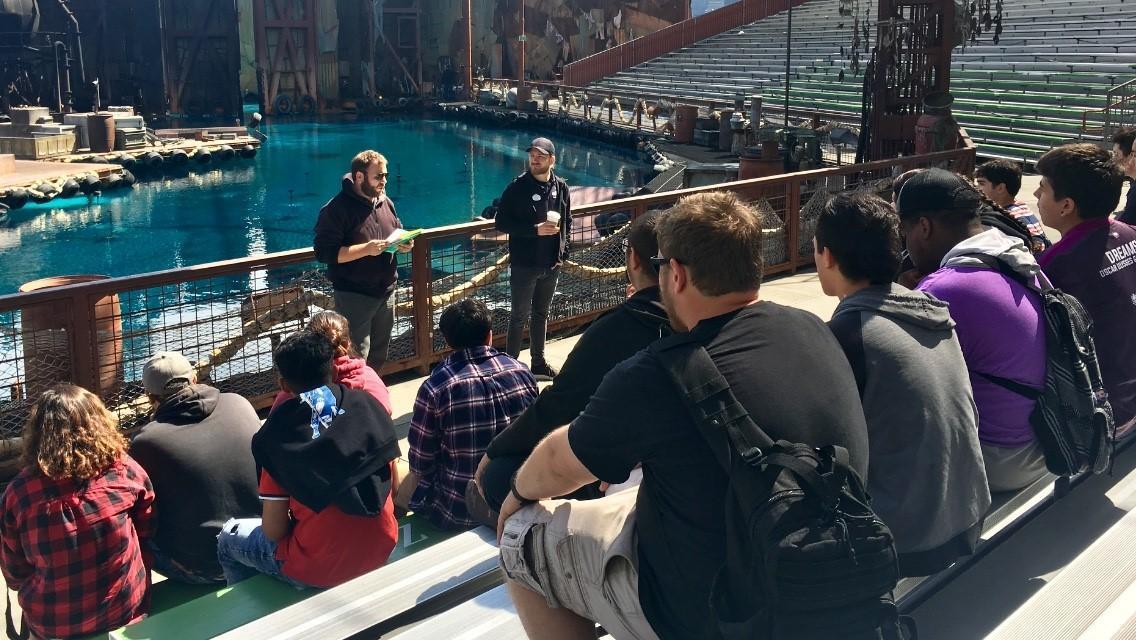 Behind the scenes of WaterWorld!