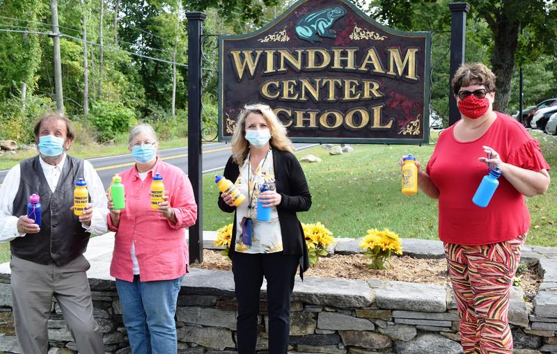 Thank you Windham/Willimantic CARES for Reusable Water Bottle Donations Thumbnail Image