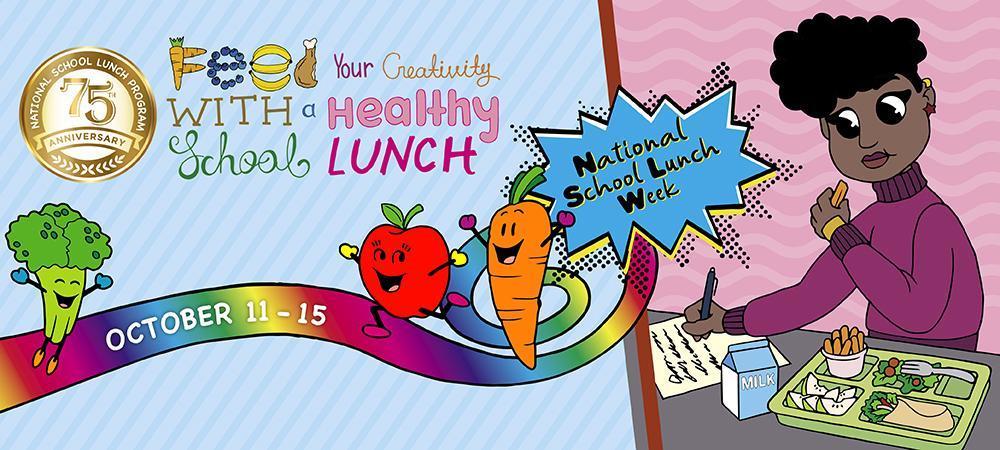 National School Lunch Week banner