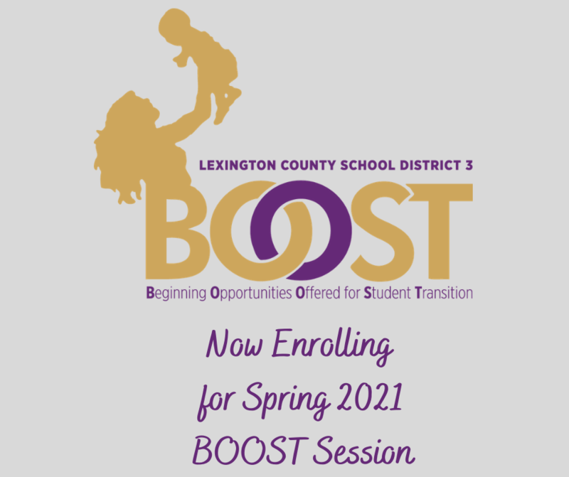 Now Enrolling For Spring 2021 BOOST Program