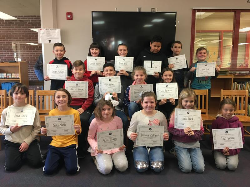 Aquadale's Spelling Bee Participants Featured Photo