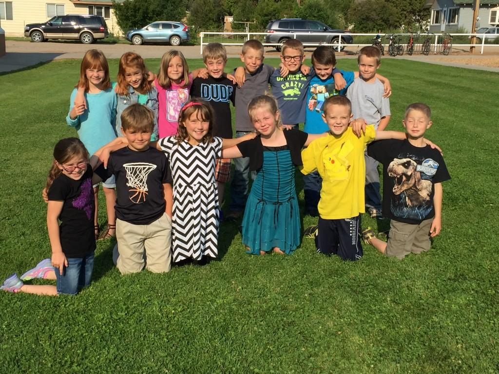 2016-2017 2nd and 3rd Grade Students