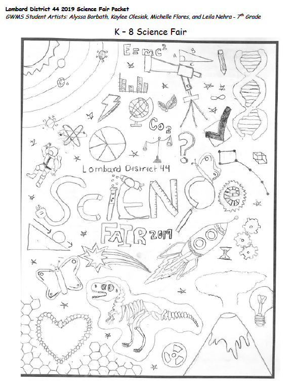 2019 Science Fair Packet (El paquete de la Feria de Ciencias para 2019) Thumbnail Image