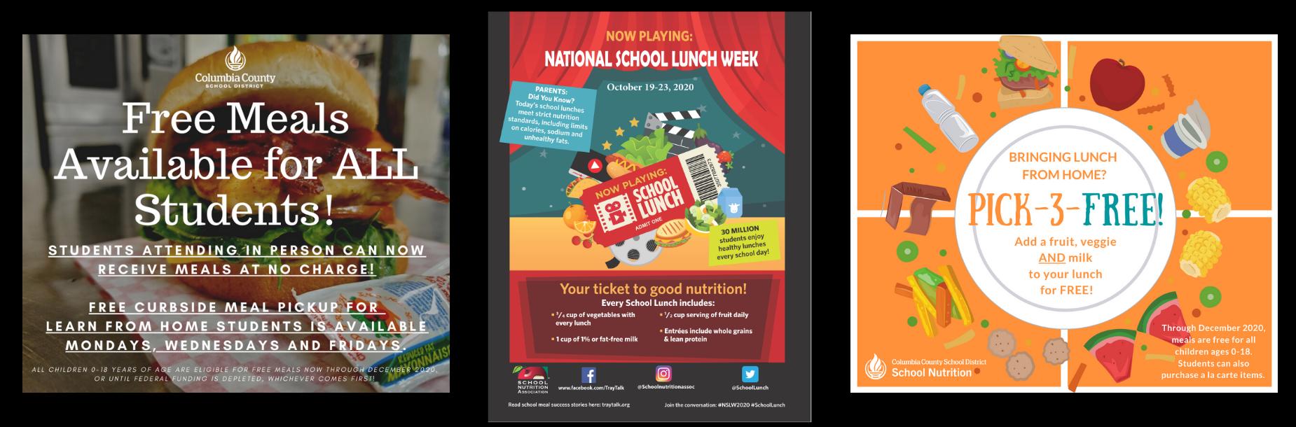 school nutrition info