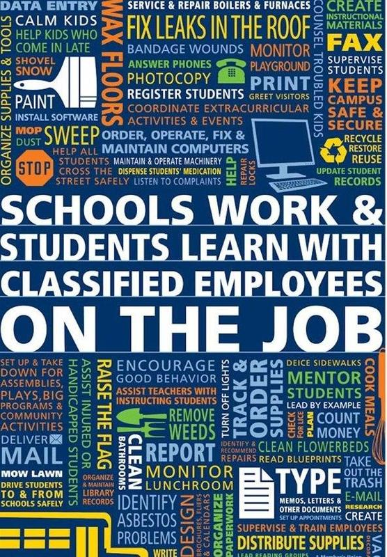 GMS Celebrates Classified Employee Week May 17 - May 23 Featured Photo