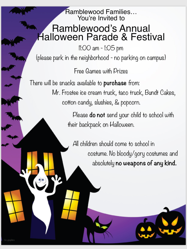 Halloween Flyer English
