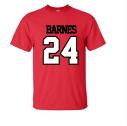 Red Barnes 24 School T-shirt